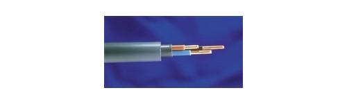 Stijve kabel XVB voor binnen (grijs)